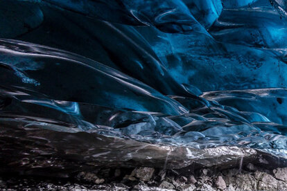 ...Ice caves in Iceland